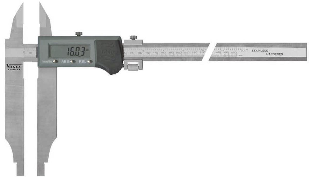 207041 Thước cặp điện tử 500mm x 150 mm, IP66, ngàm cặp kép.