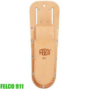 FELCO 911 Túi da 2 ngăn đựng kéo cắt cành và phụ kiện