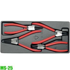MS-25 Bộ 4 cây kìm mở phe trong ngoài cho tủ đồ nghề