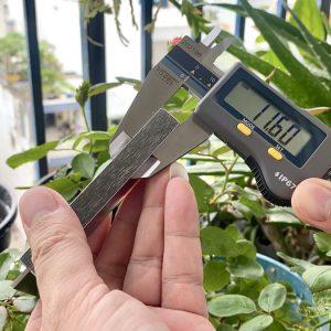 đế eke dày 11,6mm đo thực tế