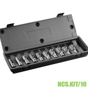 HSS.KIT/10-Bộ mũi khoan từ HSS 10 mũi Ø12-30mm, dài 30-55mm