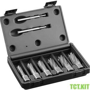 TCT.KIT Bộ mũi khoan từ TCT 6 mũi Ø12-22mm, dài 35-55mm