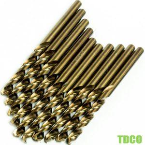 TDCO-Mũi khoan kim loại HSS-Co từ Ø1-13mm, DIN338