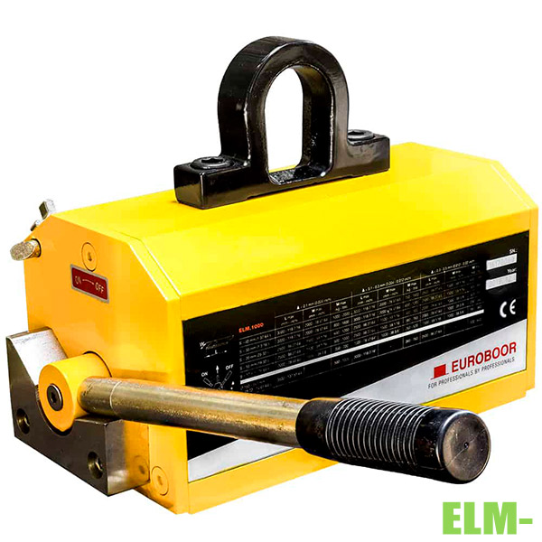 ELM-Khối nâng từ vĩnh cửu 125kg-2 tấn, hệ số an toàn 3.5 Euroboor